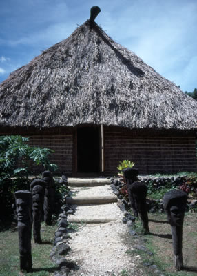 Traditional Fijian Hut