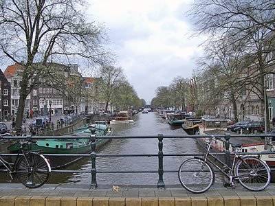 Dutch Canal Amsterdam Holland